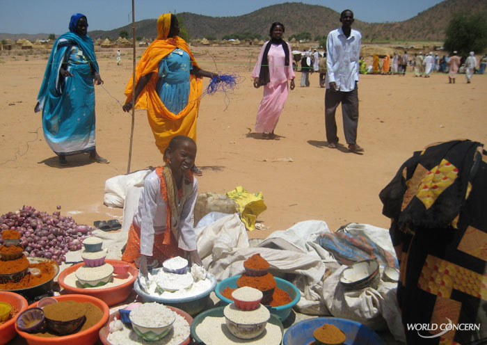World Concern works with refugees and displaced people in Chad. Using innovative techniques, we include them in the discussion as we plan our future disaster relief.