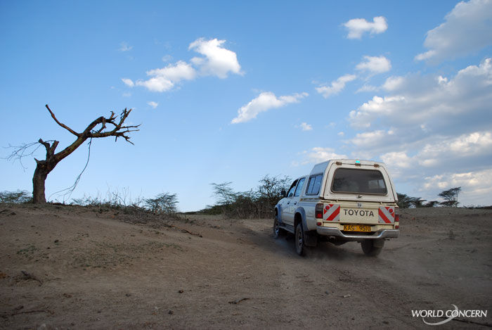 World Concern travels to hard-to-reach places to provide disaster relief. This often means many hours on difficult roads to reach people in great need.