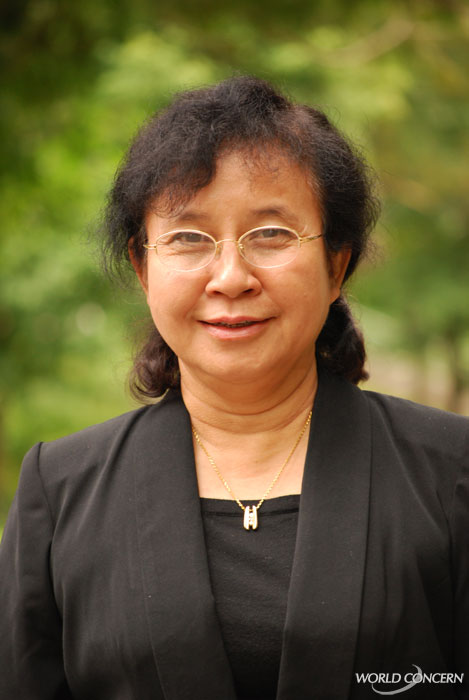 New Myanmar Country Director Rebecca Htin will be leading World Concern's Humanitarian Aid. She's a medical doctor and grew up in the country.