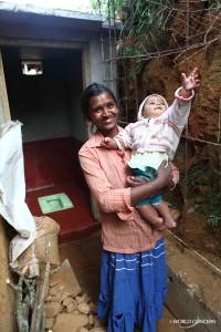 A latrine in Sri Lanka.