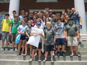Chenal Valley youth group.