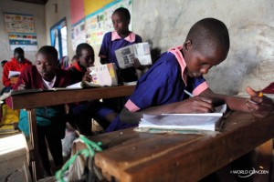School children in Kenya.