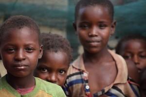 Kids in Kenya.