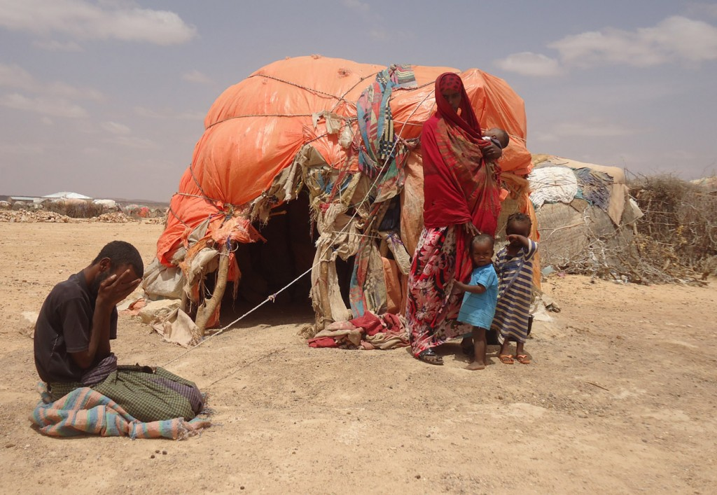 Mother in Somaliland with sick husband
