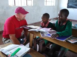 A World Concern donor in Kenya