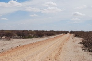 The road to Somaila.