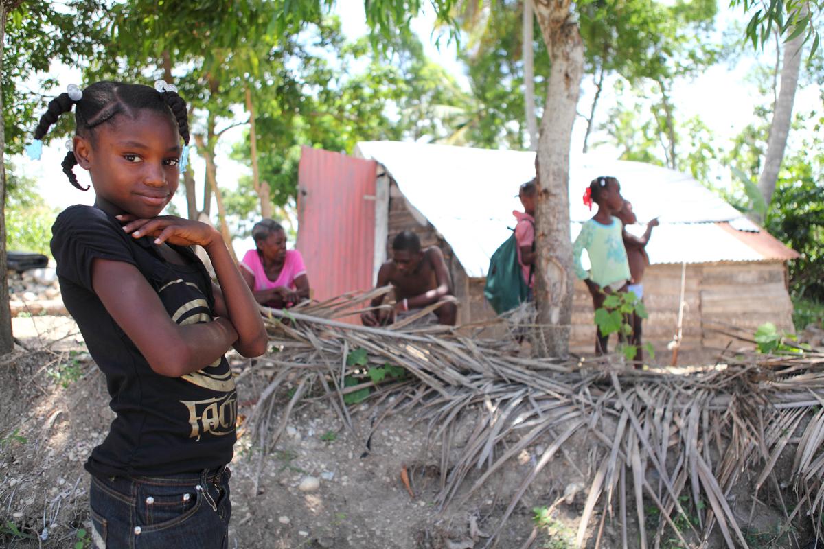 Let's focus concern on Haiti, where Isaac threatens vulnerable families