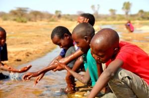 School kids in Benane, Kenya