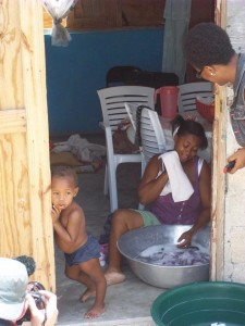 T-shelter in Haiti