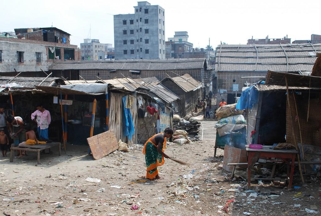 Dhaka slum