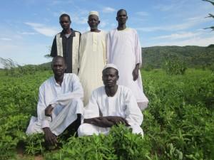 Farmer's group in Harako.