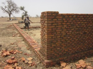 School construction in Harako.