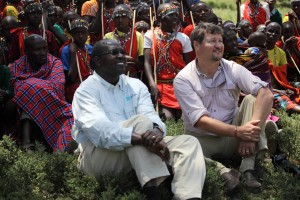 We enjoyed a dance performance by Maasai boys in their village.