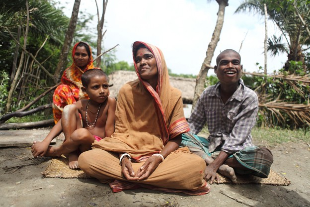 Kanomrani's family lives in a coastal village in Bangladesh that is in the direct path of cyclones. You can help protect a family like hers from the storms ahead.