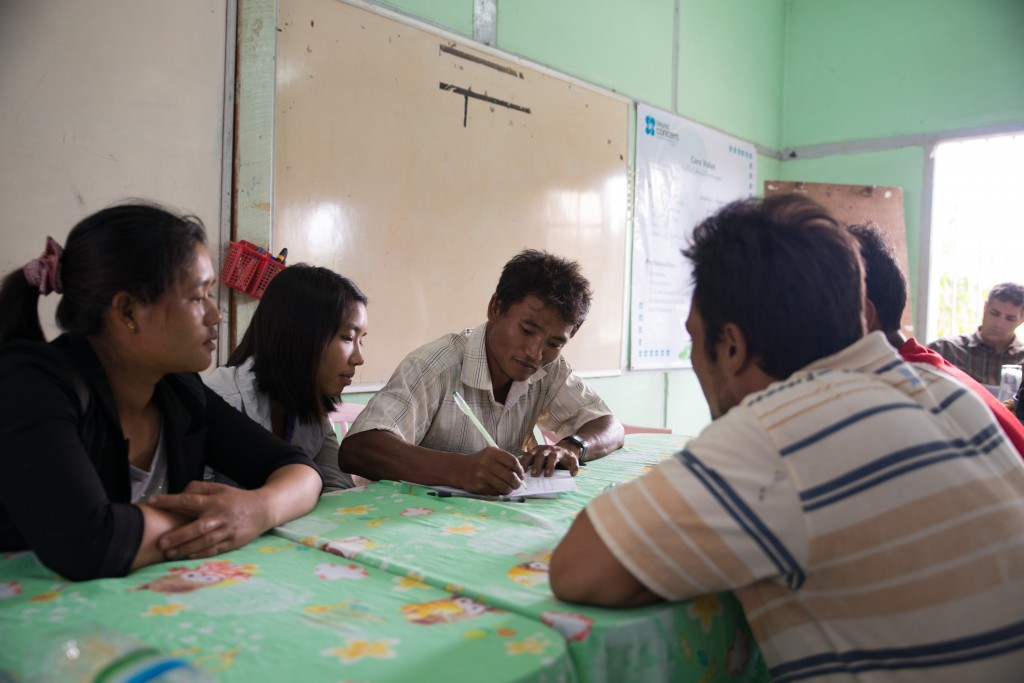 Volunteers from several villages in Myanmar's Shan State share tips on how they are working to prevent drug use in their villages.