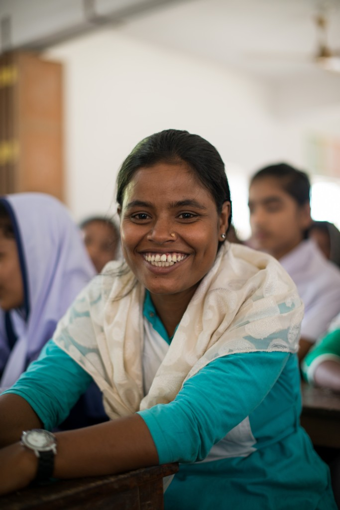 For Happy, a scholarship means she can stay in school and avoid child marriage.