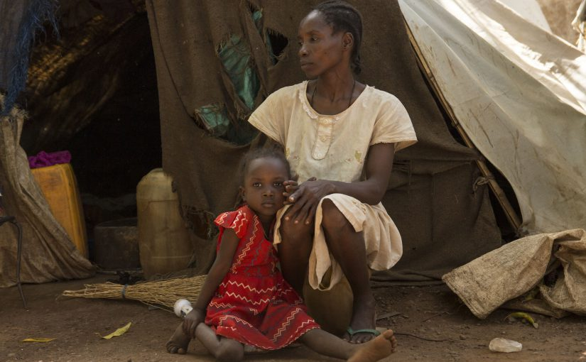 Homeless – but not without hope – in South Sudan
