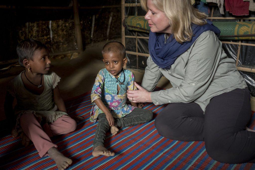 rohingya siblings in Bangladesh