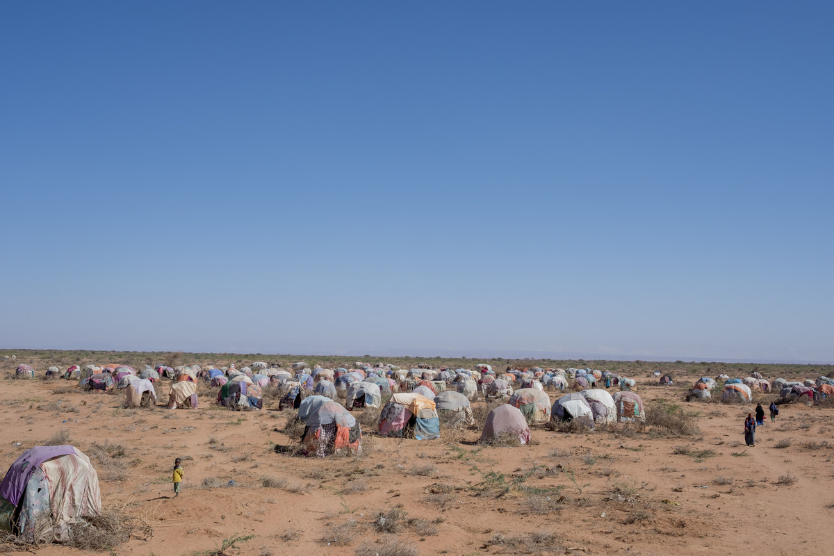 a camp in Somalia